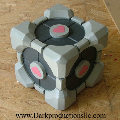 Picture of Aperture Science Weighted Companion Cube