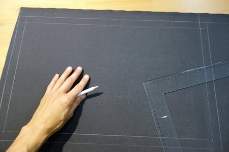Back Panel: Trace, Cut and Sew