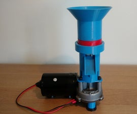 3D Printed Coffee Grinder