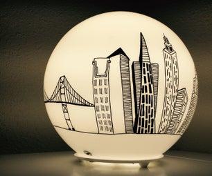 Ikea Hack: City Light
