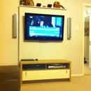 TV Wall With Hidden Tech
