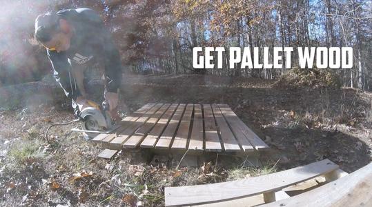 Prepare Pallet Wood