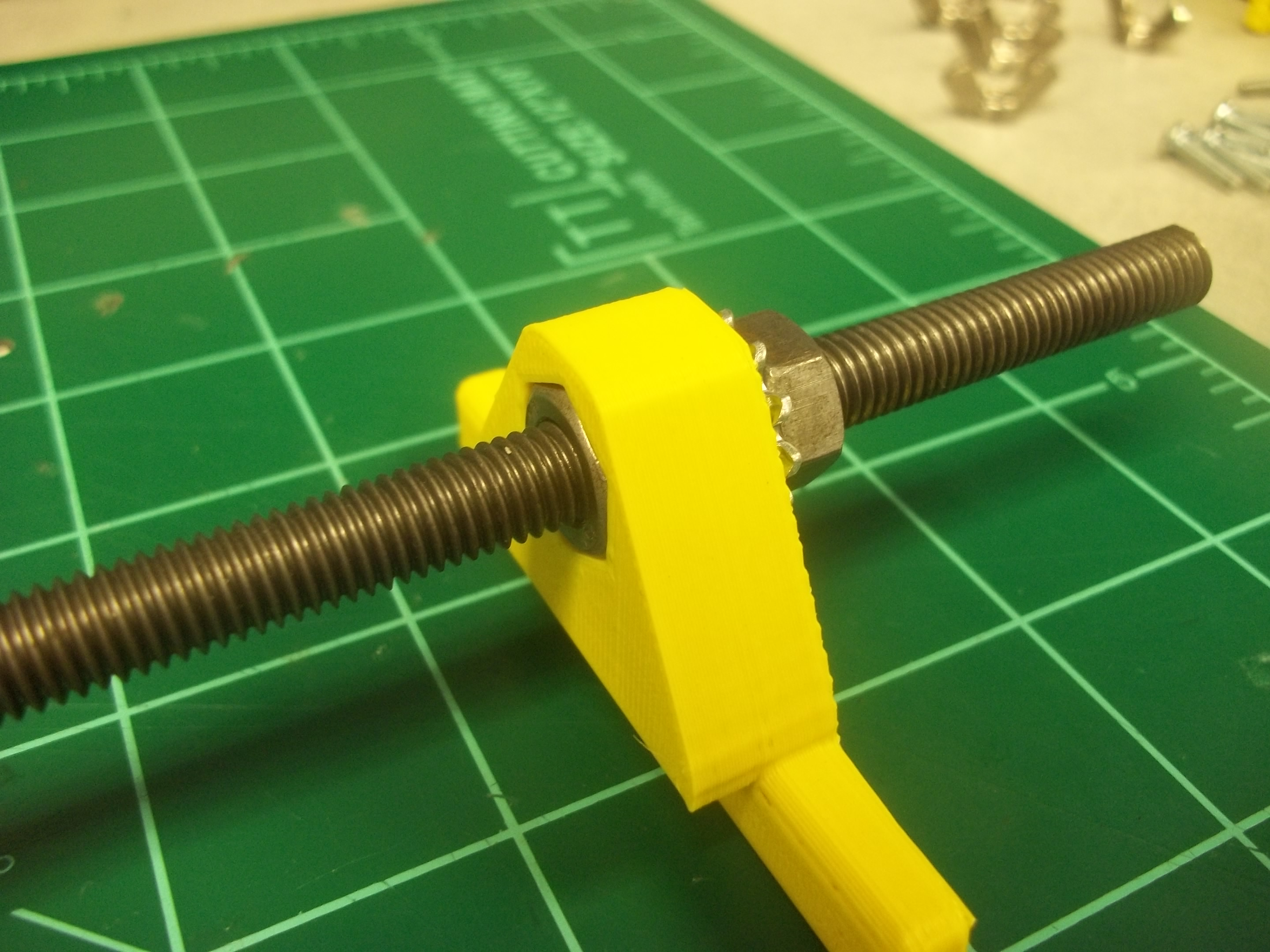 Picture of Tighten Outer M8 Nuts to Prevent Twisting