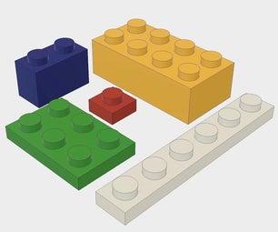 Parametric Lego Bricks in Fusion 360