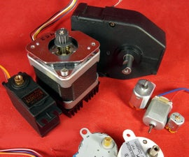 DC Motors Tutorial-1/3: Continuous, H-Bridge, Gear