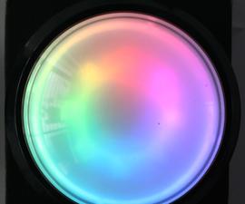 Neopixel Dome Button