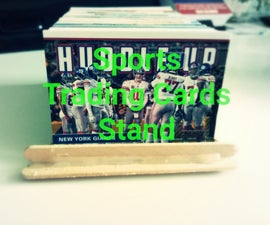 Sports Trading Cards Stand