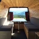 How to sew cushions for a camper van