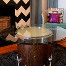 How to Make a Glowing Coffee Table from a Recycled Drum