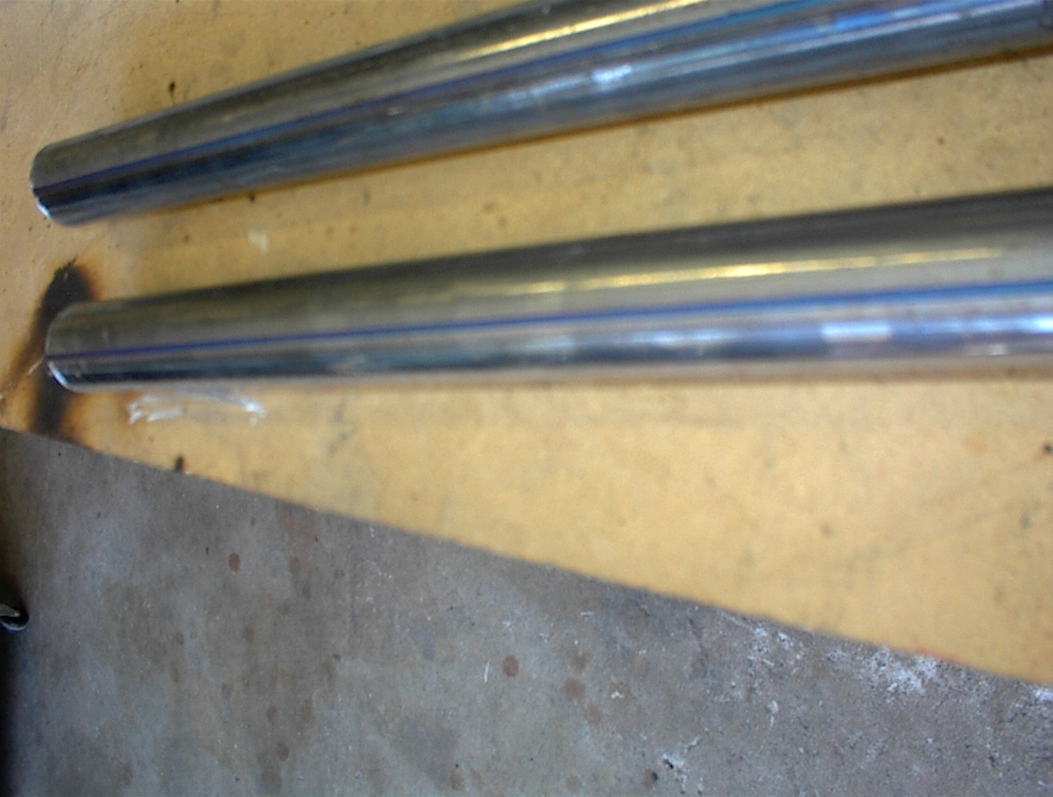 Picture of Draw Alignment Lines on the Fork Extensions