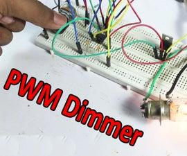 PWM DC Motor Speed & Light Control | DC Dimmer