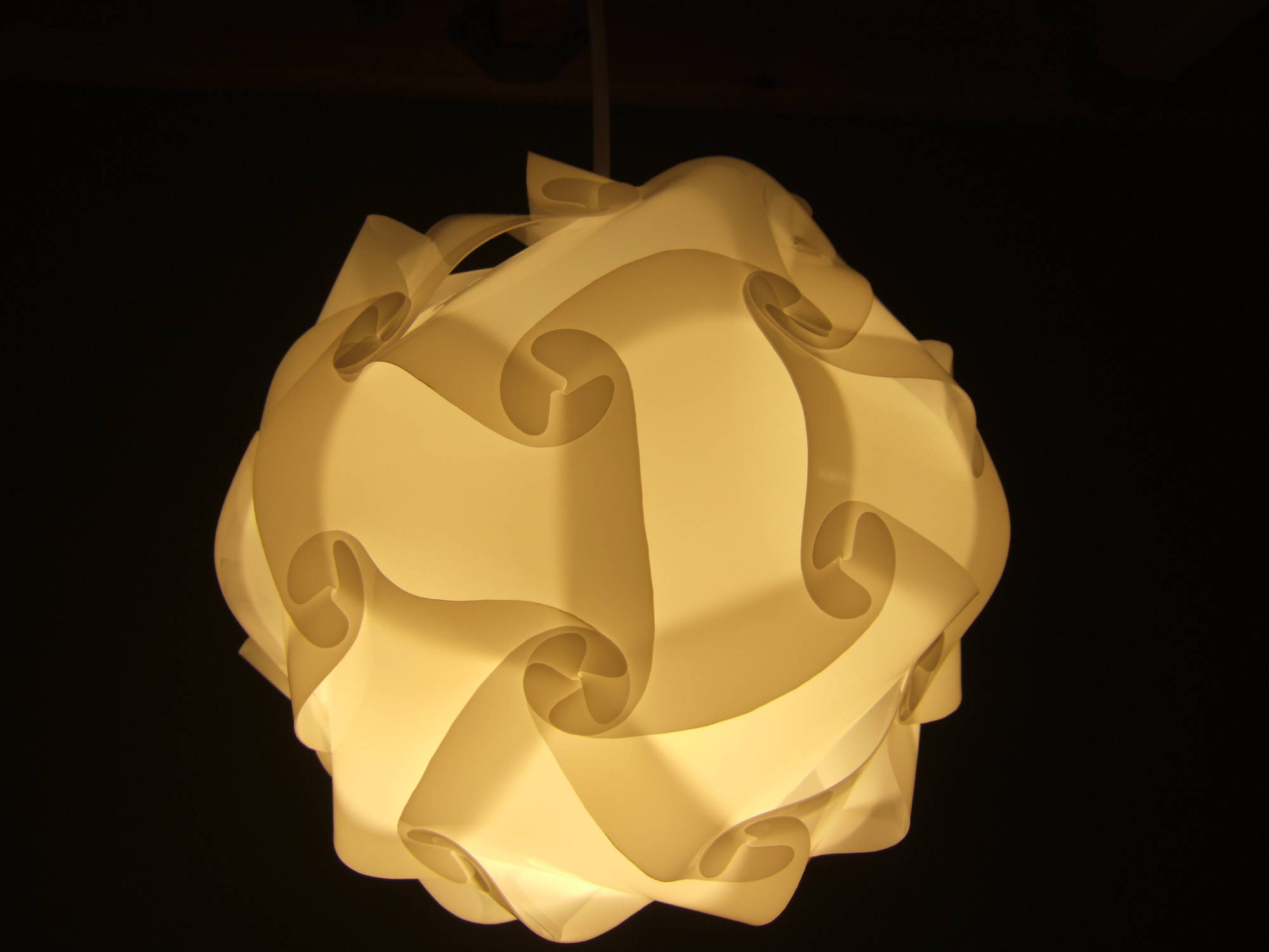 Universal Lamp Shade Polygon Building Kit 5 Steps With