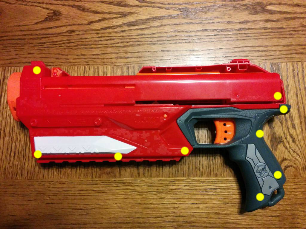 Picture of Separate Blaster Body