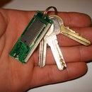 Fancy keychain from an obsolete PC RAM