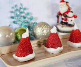 Strawberry Santa Hats
