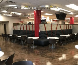 How to Make Cafeteria Banquette Seating (booth Seats)