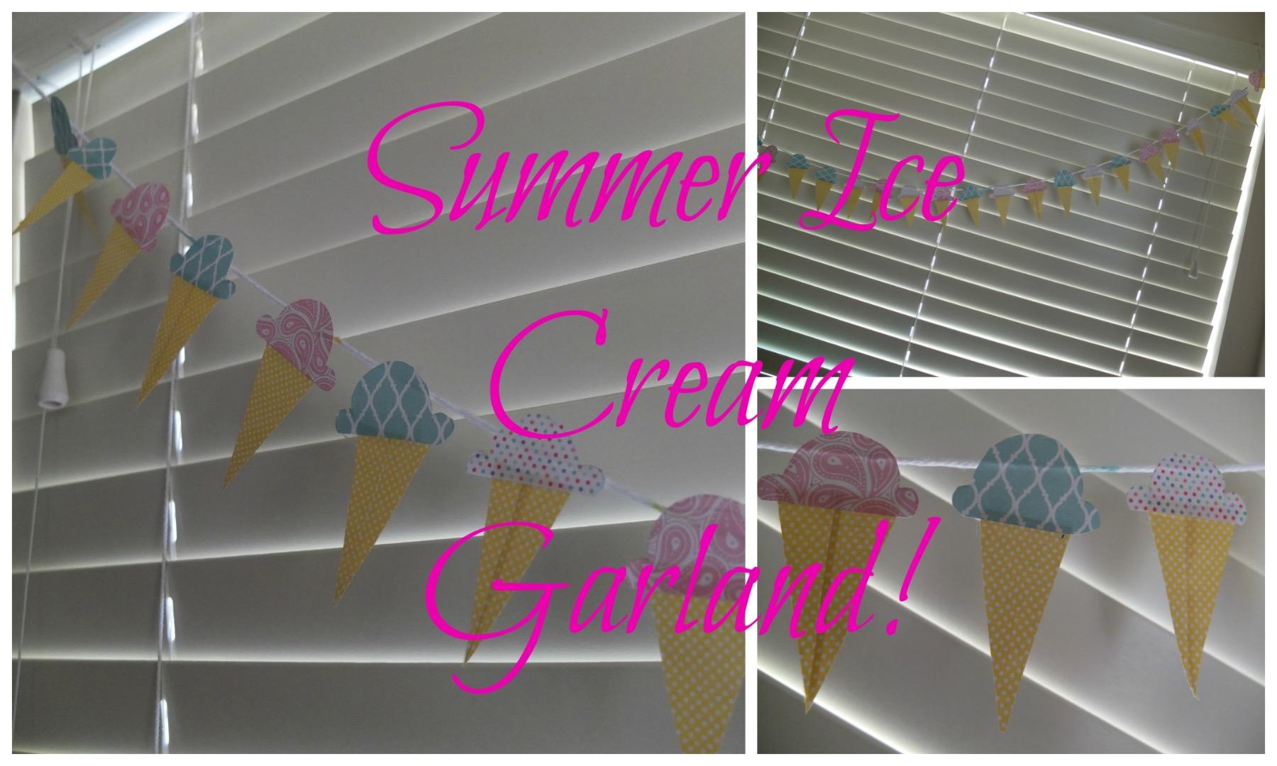 Picture of Summer Ice Cream Garland