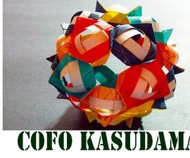 How to make an Origami Christmas Decorative Ornament - COFO Kusudama!