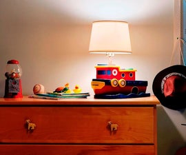 How to Make a Tugboat Toy Lamp