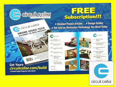 Circuit Cellar Magazine - Free Digital Subscription