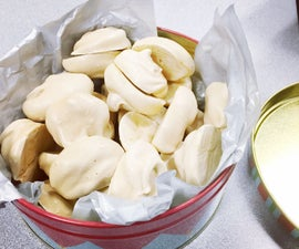 Maple Sugar Meringues
