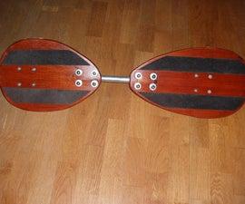 homemade ripstik / waveboard
