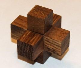 3 Piece Burr Puzzle