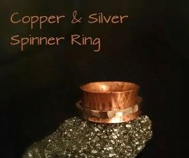 Spinner Ring - Copper & Silver