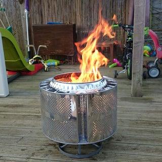 """""""Knalpot"""" Fire Pit"""
