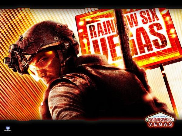 Tom Clancy's Rainbow Six Vegas Glitch.