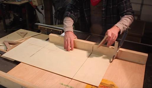 "Make the ""drawers"""