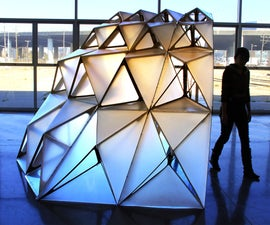 Dragon Shell Pavilion Prototype