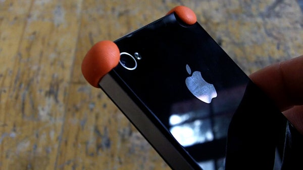 Bouncy Sugru Bumper for IPhone 4 and IPhone 4S + NEW VIDEO
