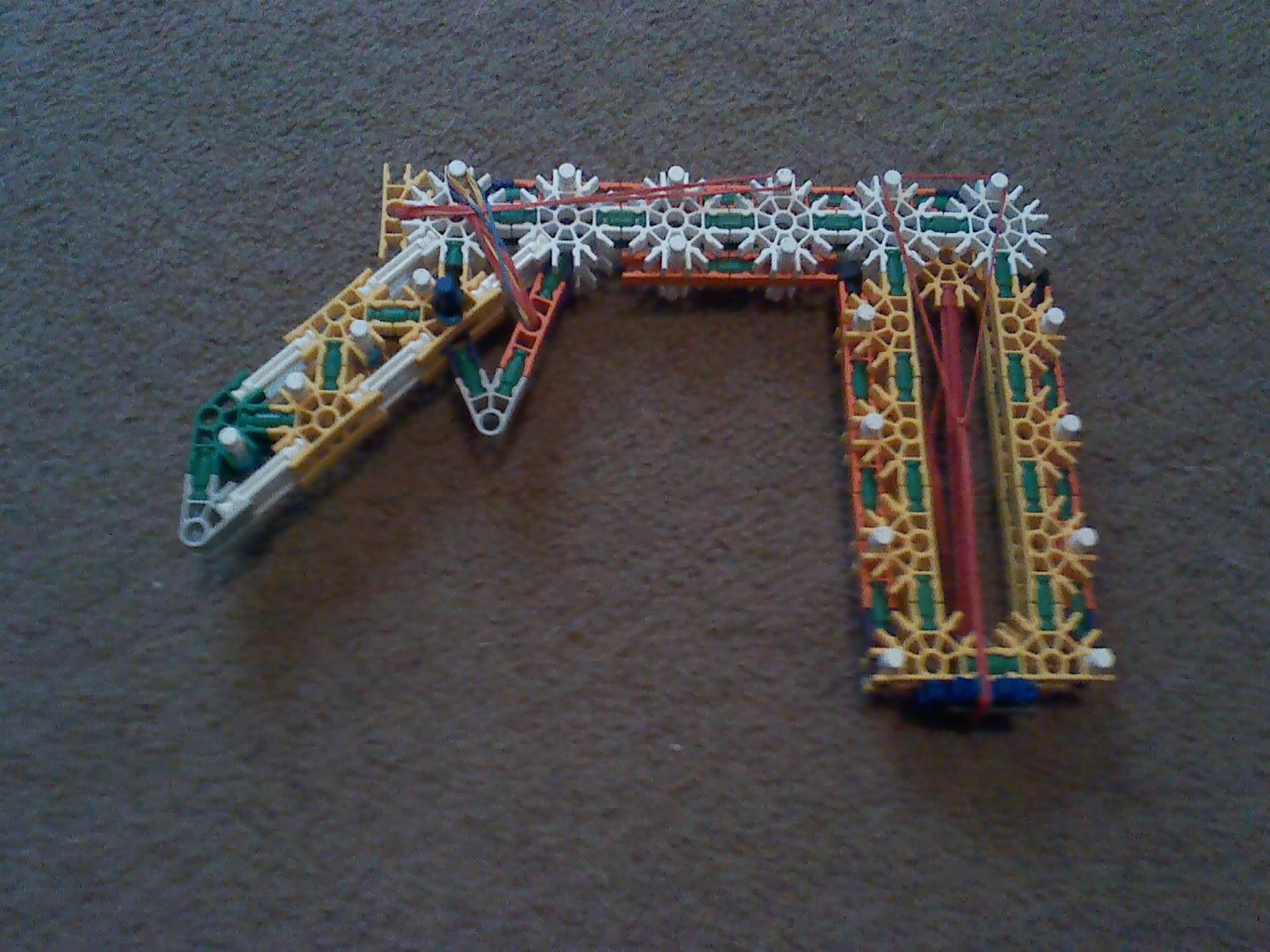 Picture of Knex Gun