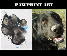 pawprint用油漆打印