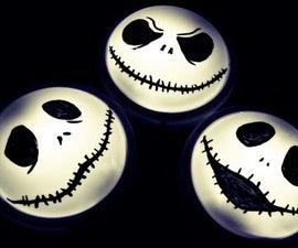 Jack Skellington Night-Light (Jack-o-lite)