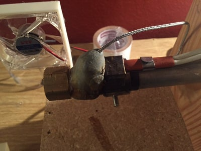 Heater and Thermocouple Mounting
