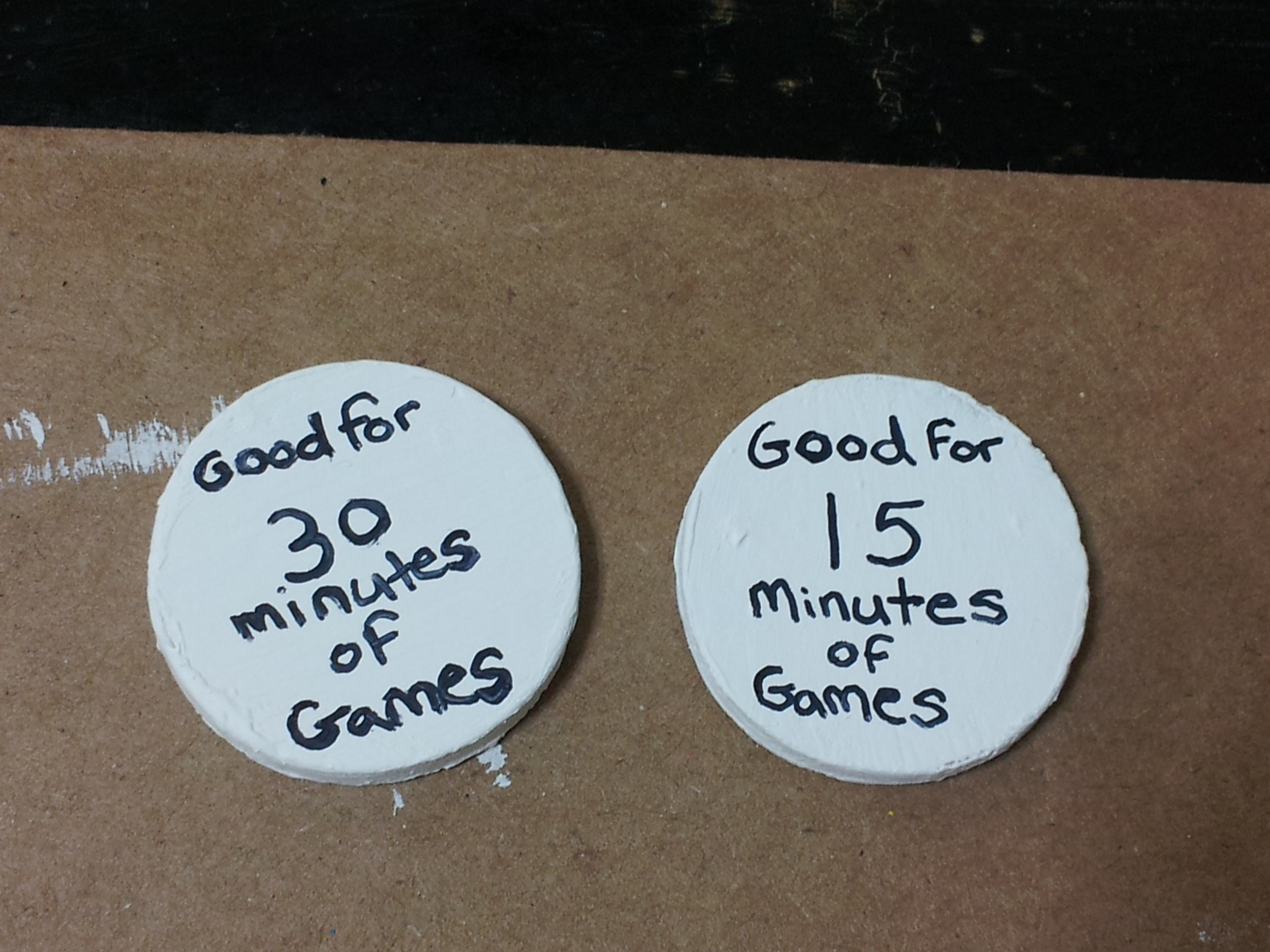 Picture of Game Tokens (Instead of Allowance) Reward System