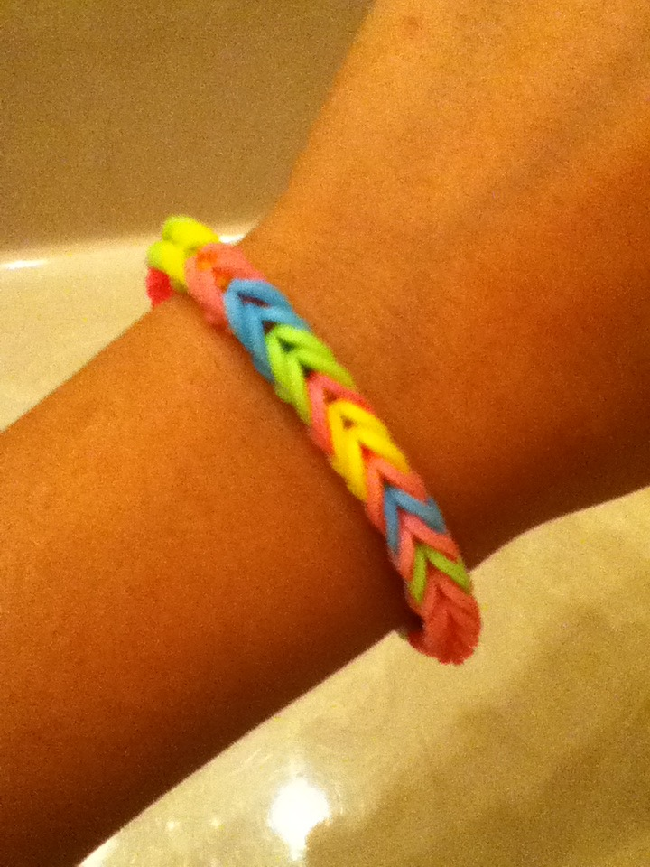 Picture of Rainbow Loom Fishtail