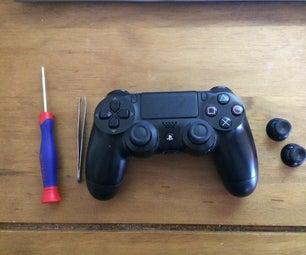 Replacing Ps4 Thumb Sticks