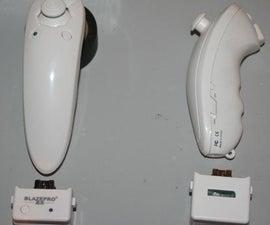 Wireless Wii Nunchuck controlled Arduino