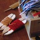 Build A Mini Foot-Pedal Weaving Loom