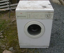 Is a junk washing machine really junk? Usefull materials for cool home builds from a dead washing machine.