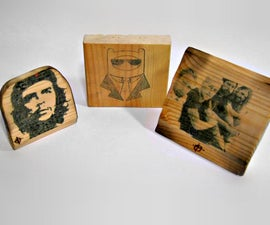 How to print on wood