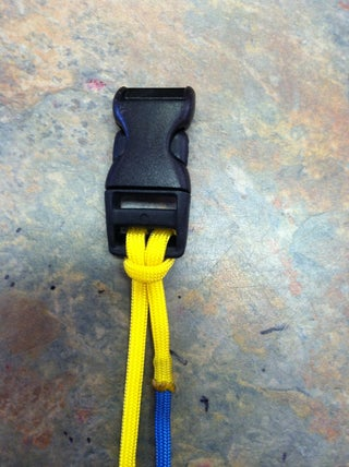 2 Color Paracord Bracelet Tutorial 7 Steps Instructables