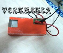 DIY Analog Voltmeter