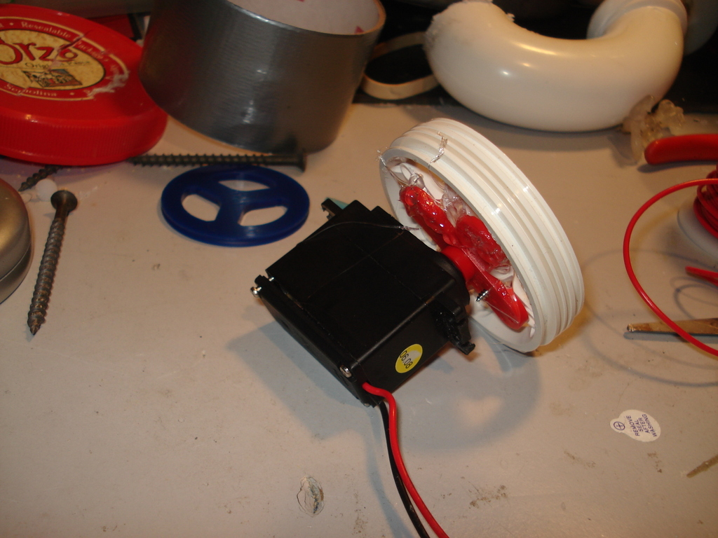 Picture of Attach the Pouring Connector