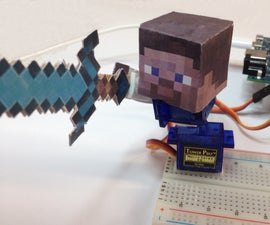 Edison Steve - A Quick to Build Robotic Puppet