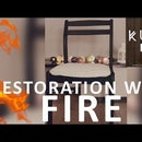 Restoration of Old Wooden Chair Using FIRE