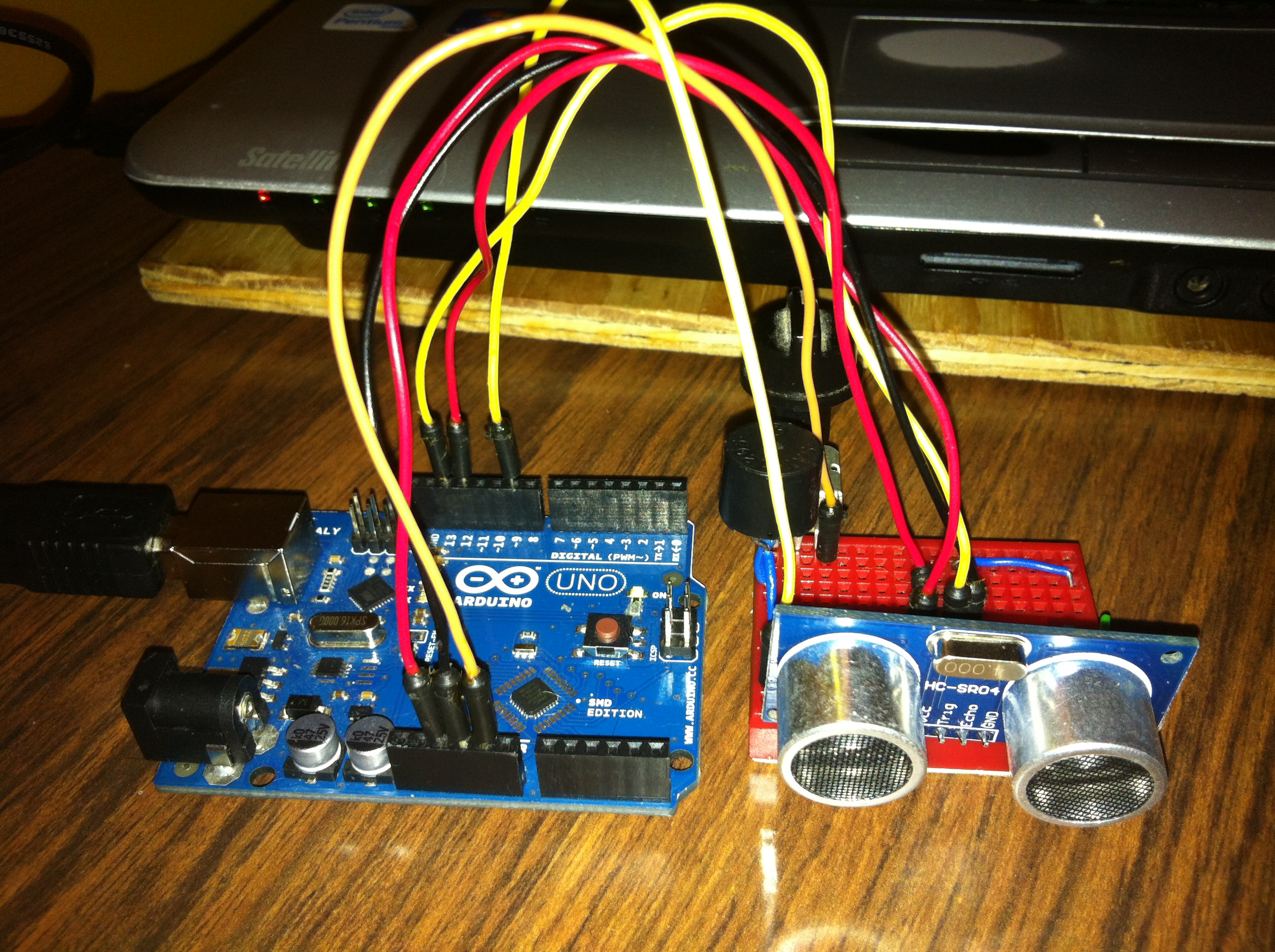 Picture of Sound Ranging for the Visually Impaired Using Arduino Prototype Design Concept
